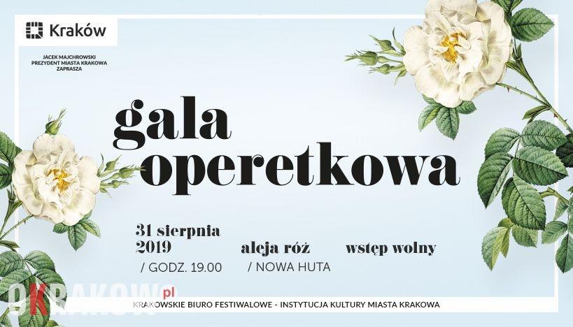Podróż w świat lekkiej muzy – znamy program Gali operetkowej w alei Róż!