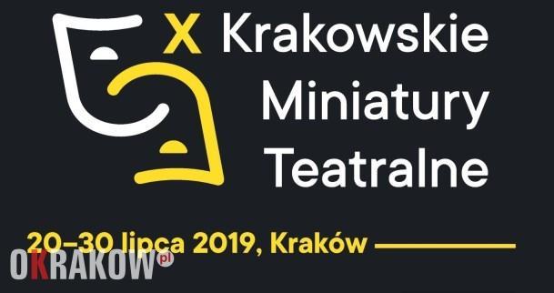 krakowskie miniatury teatralne 1 - X Krakowskie Miniatury Teatralne. Jubileuszowa edycja festiwalu teatralnego