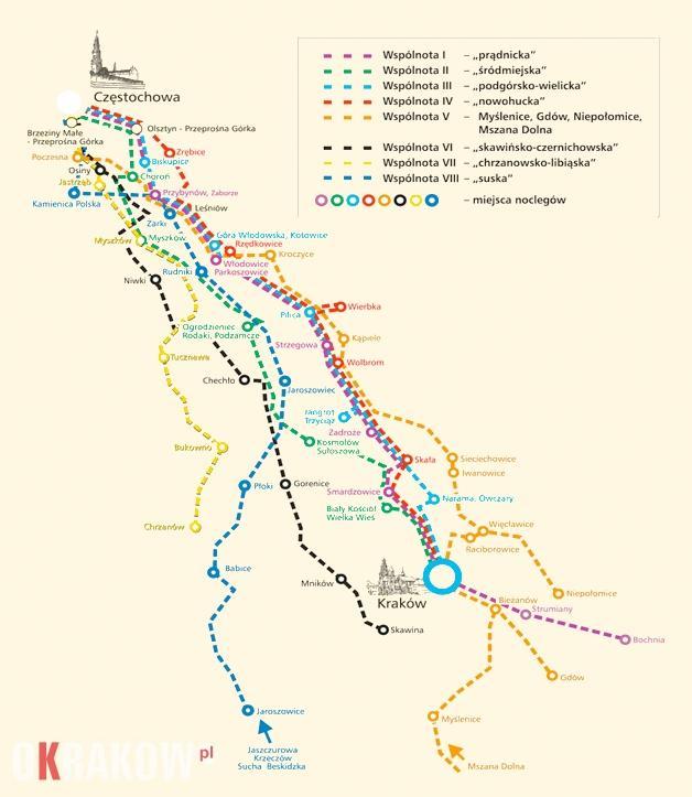 trasy pielgrzymki krakowskiej na jasna gore - Trwają zapisy na 39 Pieszą Pielgrzymkę Krakowską na Jasną Górę