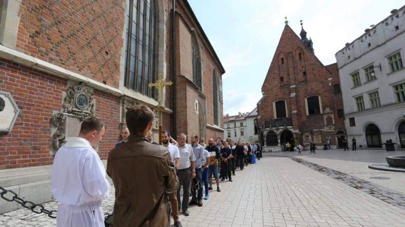 Męski Różaniec Kraków 7 września 2019