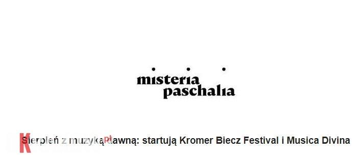 Sierpień z muzyką dawną: startują Kromer Biecz Festival i Musica Divina