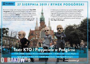 teatr kro rynek podgorski 300x215 - 27 sierpnia TEATR przejmuje kontrolę nad Rynkiem Podgórskim. A to dopiero początek!