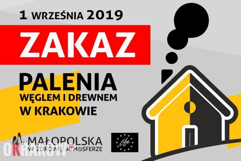 uchwala antysmogowa krakow - Od 1 września zakaz palenia węglem i drewnem w Krakowie