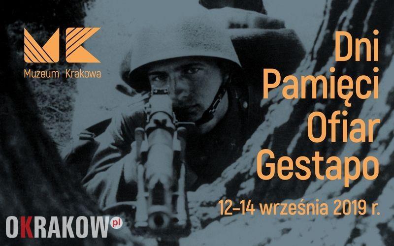 baner 800x500 - Dni Pamięci Ofiar Gestapo, 12-14.09.2019, Muzeum Krakowa, oddział Ulica Pomorska