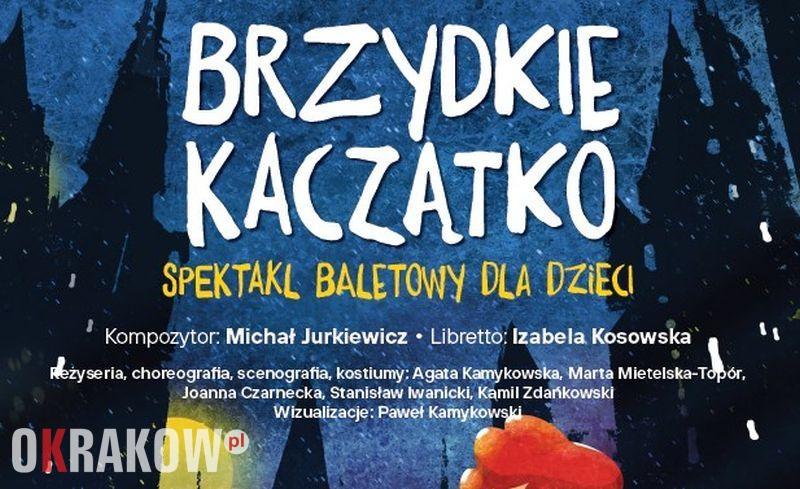 Krakowskie Forum Kultury zaprasza na Spektakl baletowy dla dzieci Brzydkie kaczątko