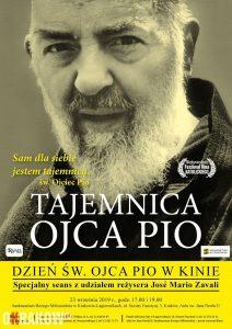 lagiewniki seans plakat 212x300 - W poniedziałek 23 września w Sanktuarium Bożego Miłosierdzia w Łagiewnikach odbędzie się seans z udziałem reżysera José María Zavala