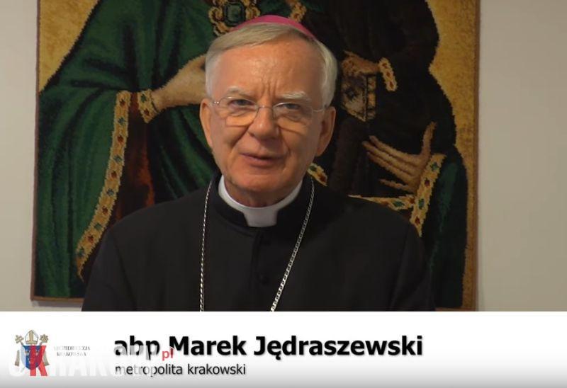 abp marek jedraszewski krakow - Ogród oliwny i nabożeństwo Getsemani w sanktuarium Jana Pawła II