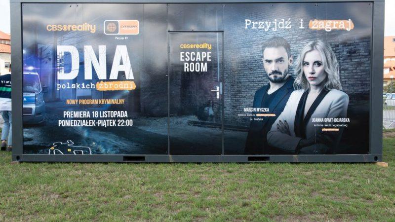 Kryminalny Escape Room CBS Reality i Cyfrowego Polsatu już wkrótce w Krakowie