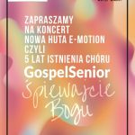 gospel 150x150 - Koncert Nowa Huta E-Motion czyli 5 lat istnienia Chóru GospelSenior