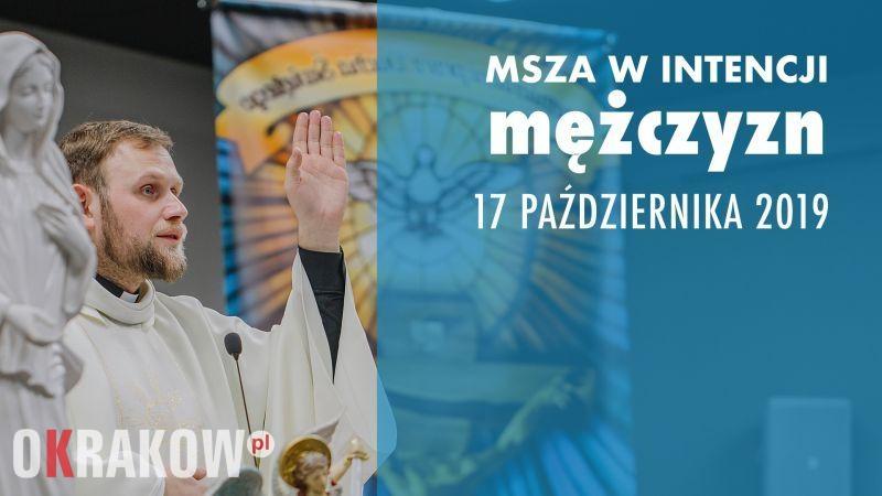 msza mezczyzni krakow jezuici - 17 października Msza w intencji Mężczyzn!