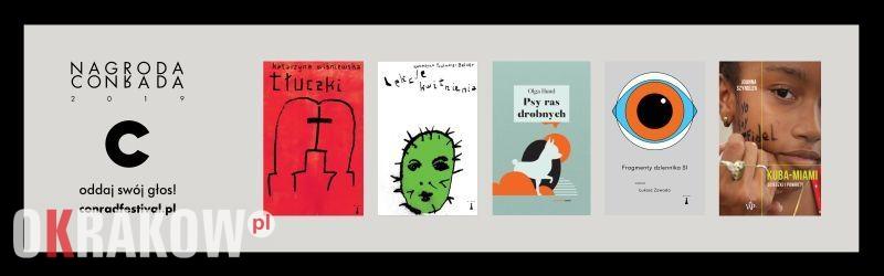 nagroda conrada - Znamy nominowanych do Nagrody Conrada.  Zagłosuj na literacki debiut 2018 roku!
