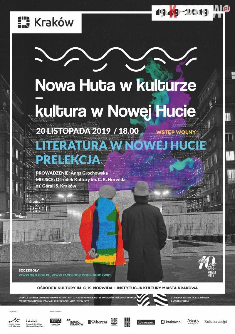 nh - Literatura w Nowej Hucie – prelekcja // Nowa Huta w kulturze – kultura w Nowej Hucie