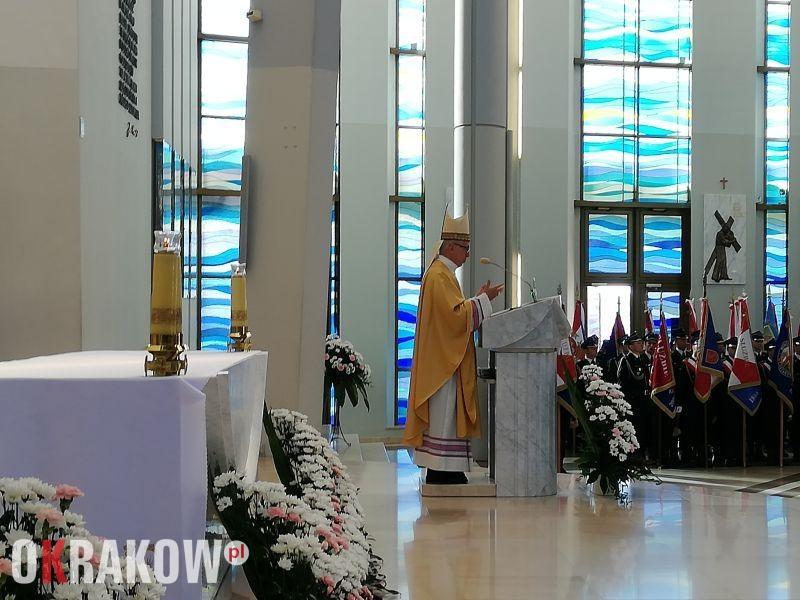 strazacy sanktuarium lagiewniki krakow 1 - Strażacy w Łagiewnikach
