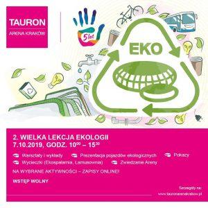 wielka lekcja ekologii tauron arena 300x300 - Dziś 2 Wielka Lekcja Ekologii w Tauron Arenie