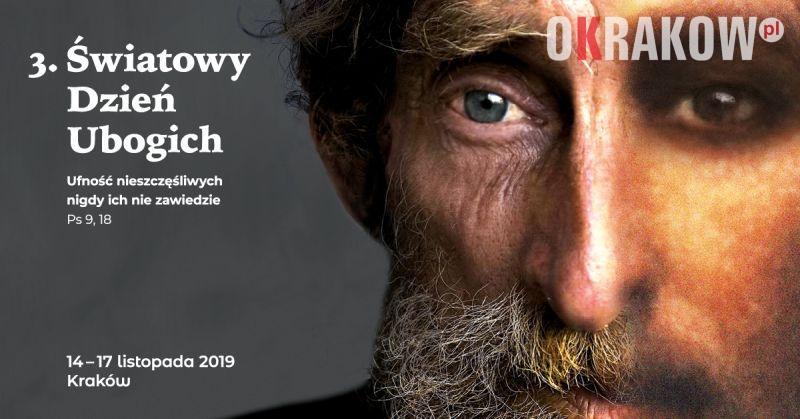 3. swiatowy dzien ubogich baner - Komunikat Kurii Metropolitalnej w Krakowie przed III Światowym Dniem Ubogich