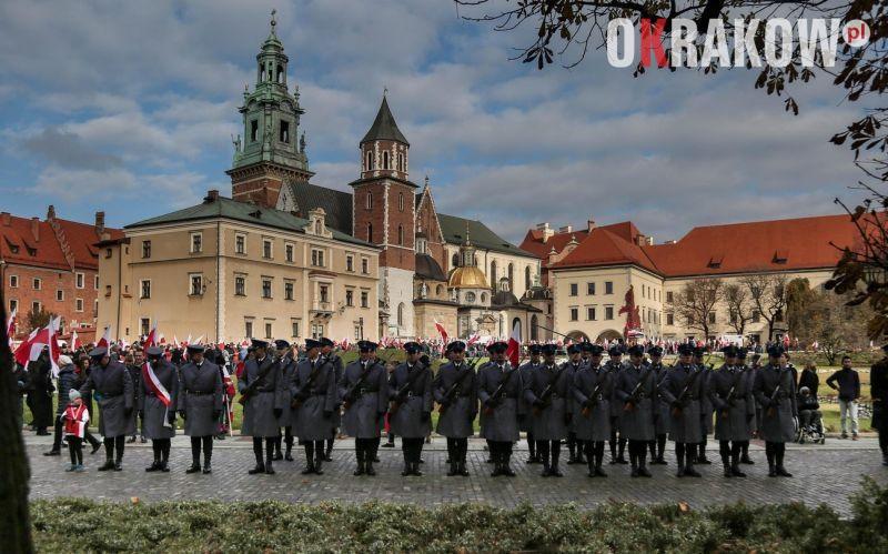 malopolska policja - Małopolskie obchody Narodowego Święta Niepodległości