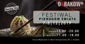 pierogi krk baner 300x157 - Już 7-8.12.2019 w Forum Wydarzeń w Krakowie odbędzie się Festiwal Pierogów Świata!
