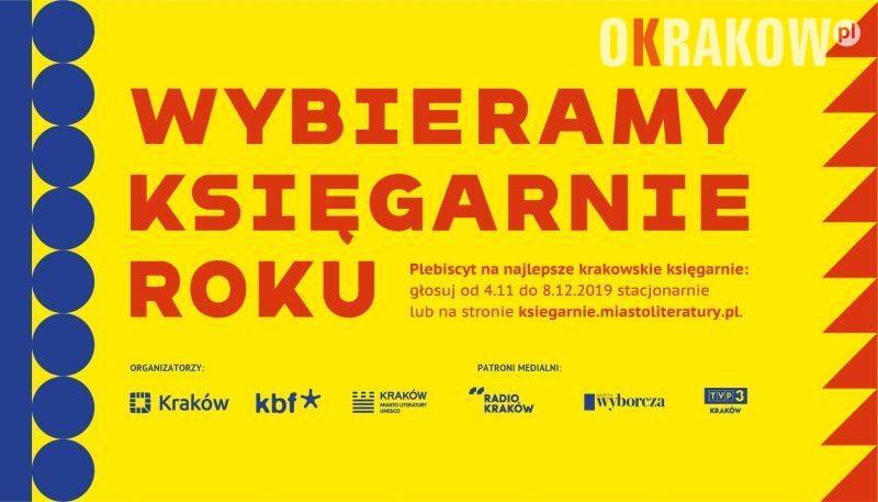 pl - Kraków po raz trzeci wybiera księgarnie roku!