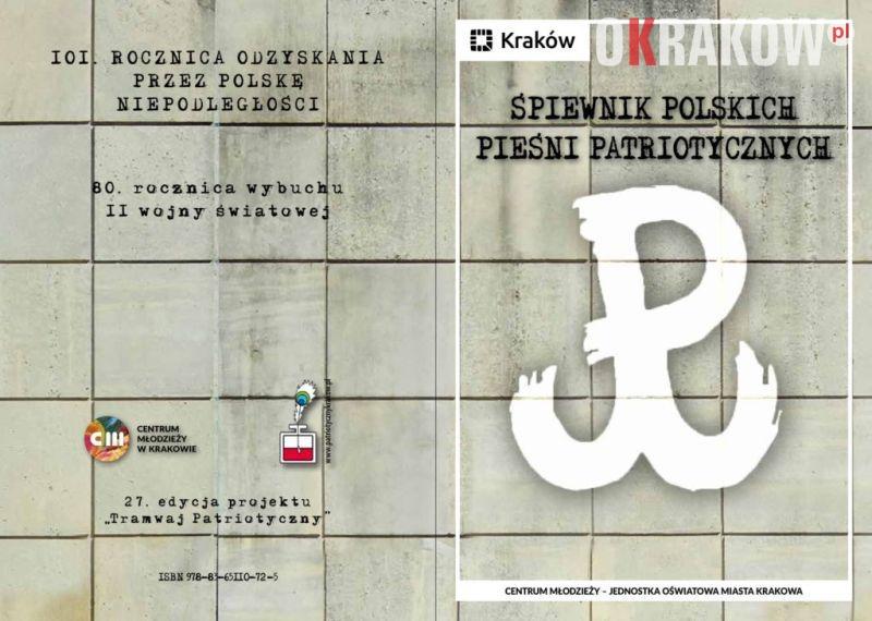 """spiewnik patriotyczny tramwaj - 27 edycja """"Patriotycznego Tramwaju"""" Zapraszamy 11 listopada na przejazd!"""