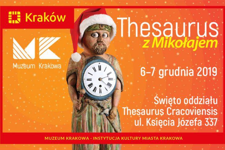 thesaurus mikolaj2019ramka800x500 730x485 - Thesaurus z Mikołajem Święto oddziału Thesaurus Cracoviensis 6 i 7 grudnia 2019 ul. Księcia Józefa 337
