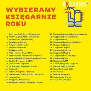 wybieramy ksiegarnie roku 300x300 - Kraków po raz trzeci wybiera księgarnie roku!