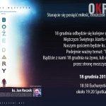 czolowka gru 150x150 - Spotkanie Mężczyzn - Boże Dary (Środa 18 grudnia 2019)