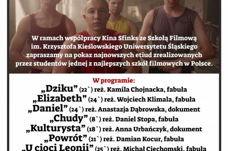 """dkf etiudy 730x485 - DKF """"Kropka"""": Katowicka Szkoła Filmowa - pokaz etiud studenckich"""
