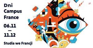 dni campus france grafika poziom 300x156 - Studencka Francja-elegancja w Krakowie