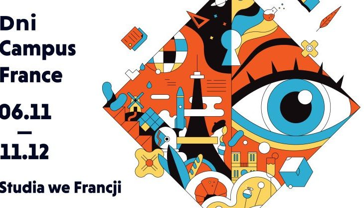 dni campus france grafika poziom 730x417 - Studencka Francja-elegancja w Krakowie