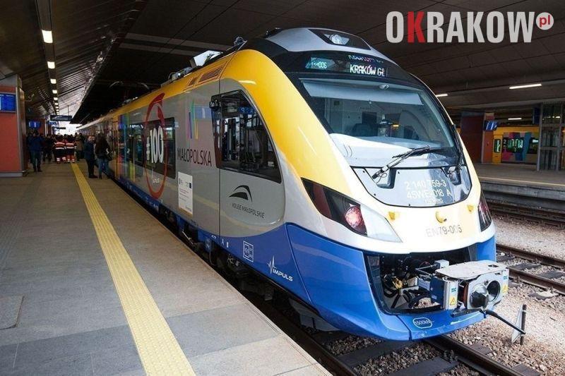 kolej malopolska krakow - Zmiana rozkładu jazdy pociągów od 15 grudnia