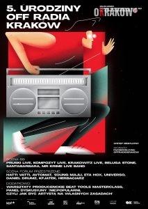 5.urodziny plakat 213x300 - 5. urodziny OFF Radia Kraków