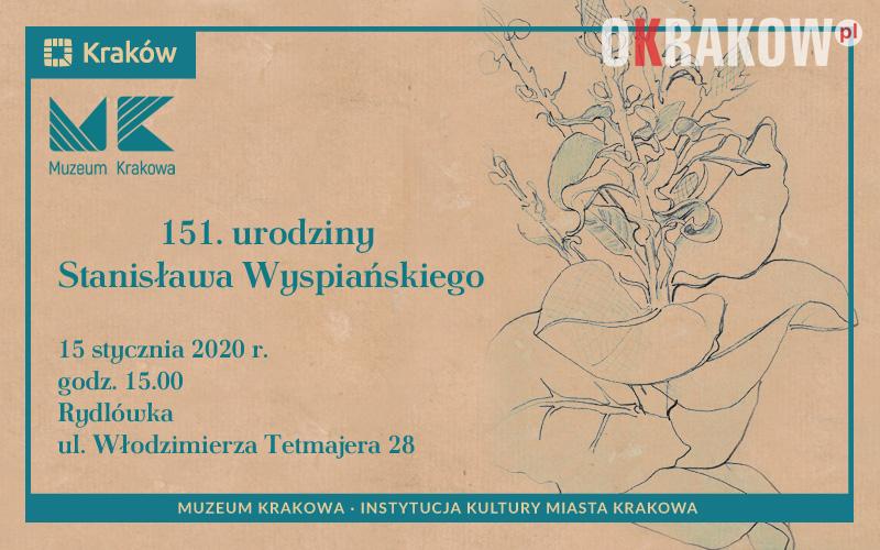 Uroczystość 151. Urodzin Stanisława Wyspiańskiego