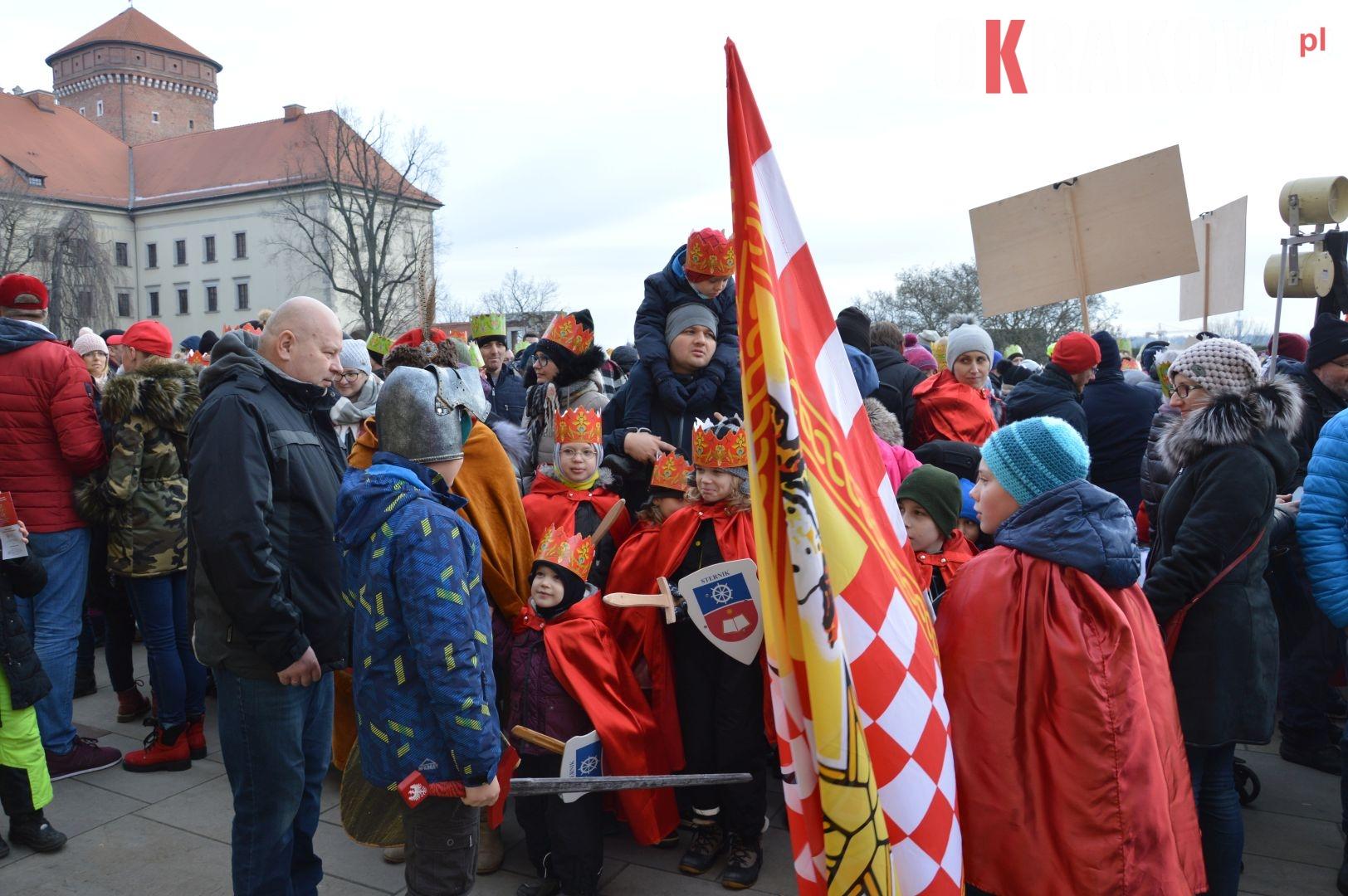 orszak 12 1 150x150 - Orszak Trzech Króli Kraków 2020 Galeria Zdjęć z Orszaku (czerwonego)