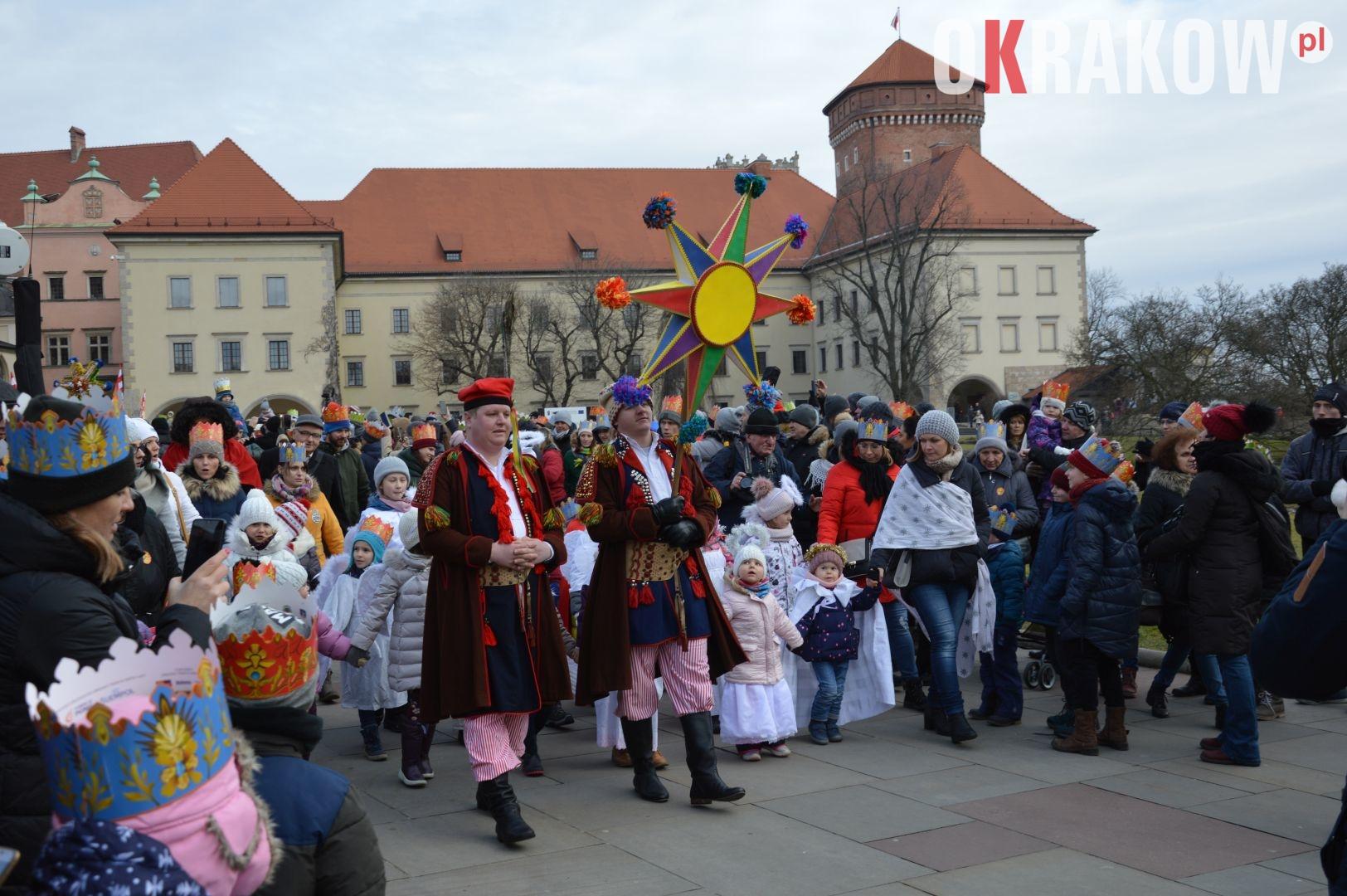 orszak 14 - Orszak Trzech Króli Kraków 2020 Galeria Zdjęć z Orszaku (czerwonego)