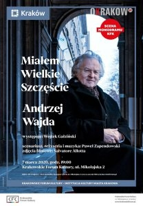 kfk b1 sm wajda 208x300 - Wiosenny powiew na scenie Krakowskiego Forum Kultury