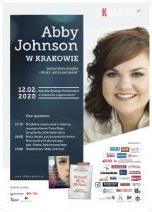 """plakat 215x300 - Abby Johnson bohaterka filmu i książki """"Nieplanowane"""" w 12 lutego w Krakowskich Łagiewnikach"""