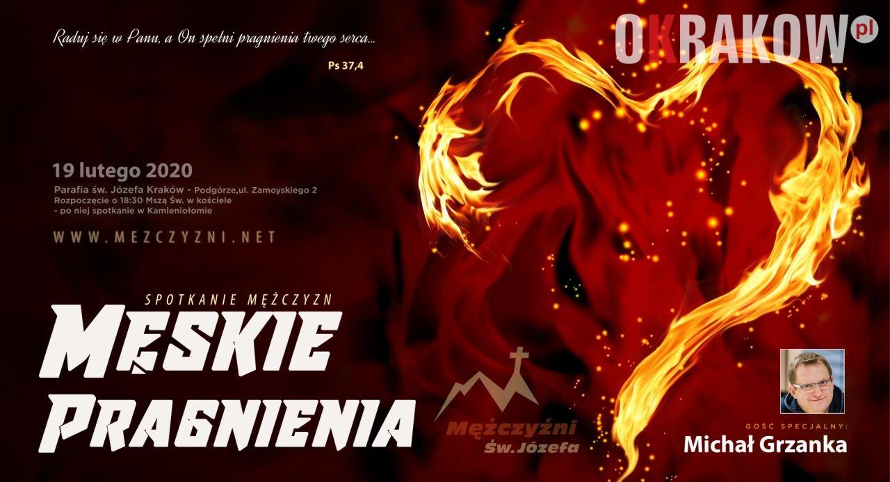 start - Męskie Pragnienia - Kraków, środa 19 lutego 2020