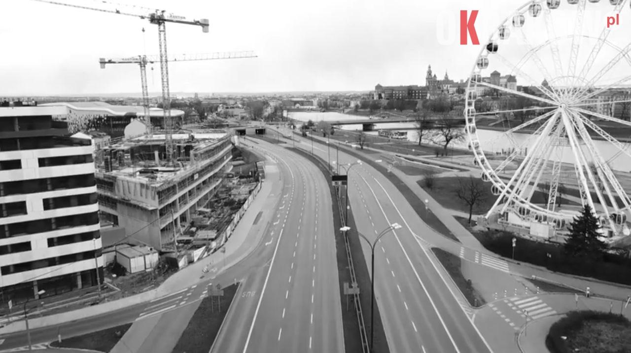 Kraków w czasach zarazy #koronawirus – zobacz film
