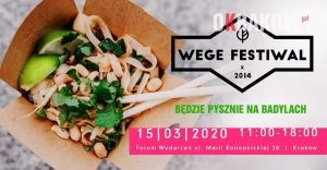 wege festiwal krakow 2020 300x156 - Krakowski Kalendarz Wydarzeń