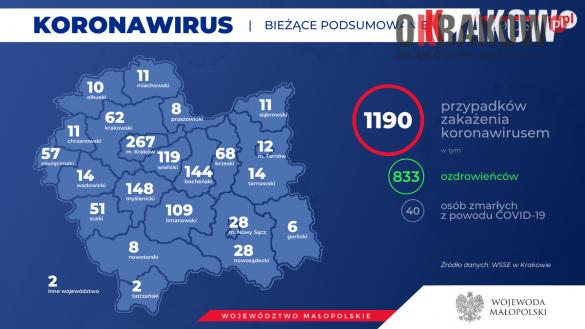 2 3 585x329 - Koronawirus w Małopolsce... mamy dobre wiadomości!