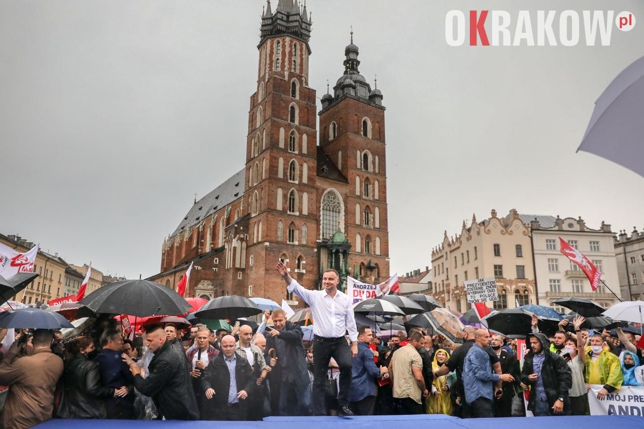 andrzej duda w krakowie 4 - Wyniki Wyborów Prezydenta RP 2020 w Krakowie