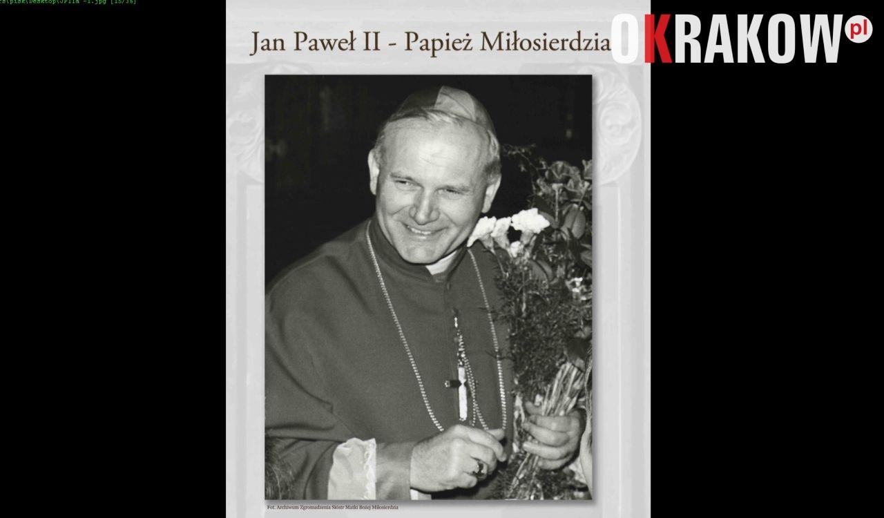 """Wystawa: """"Jan Paweł – Papież Miłosierdzia"""""""