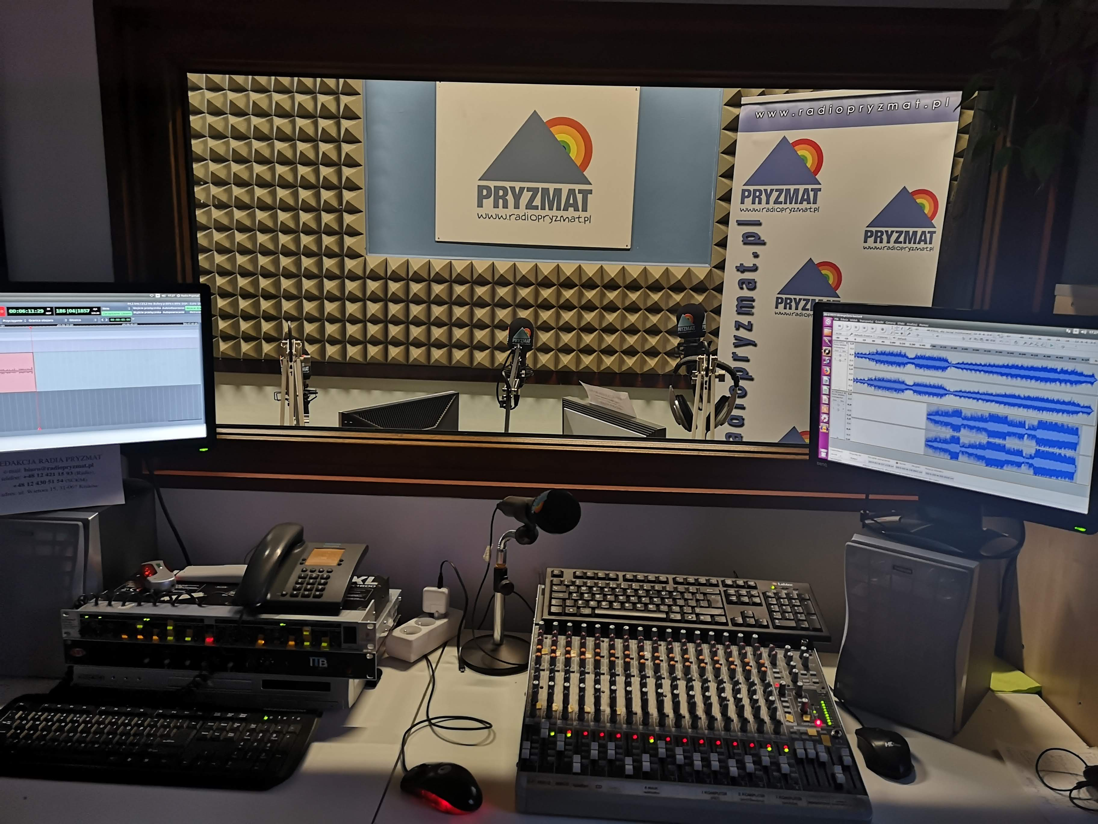 studio radio pryzmat 300x225 - Akademia Dziennikarstwa