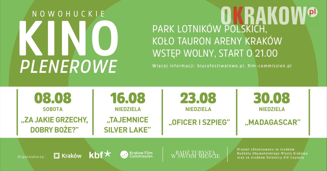 Kraków Wydarzenia: W Nowej Hucie rusza Kino Plenerowe
