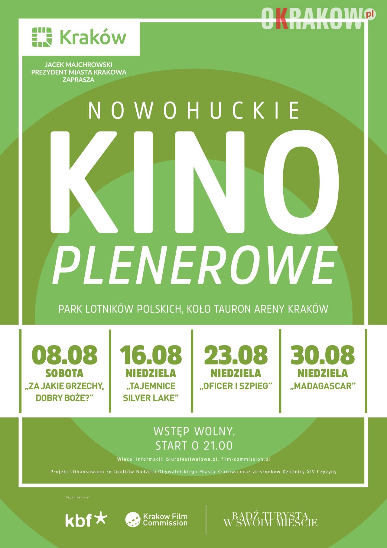 kino plenerowe krakow nowa huta 2 212x300 - Kraków Wydarzenia: W Nowej Hucie rusza Kino Plenerowe