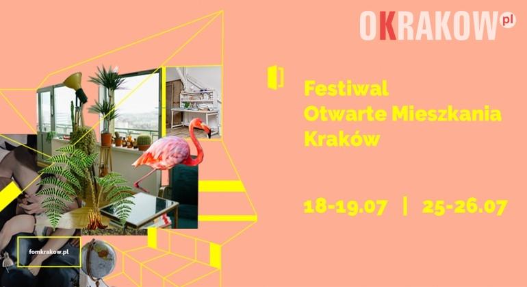 krakow otwarte mieszkania - Kraków, Festiwal Otwarte Mieszkania 2020 wyjątkowo w lipcu