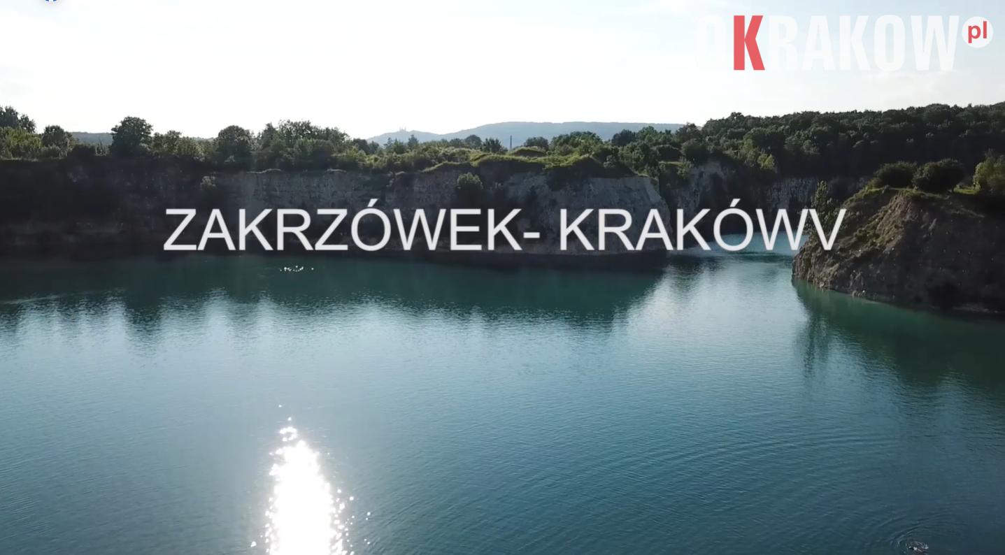 krakow zakrzowek - Kraków Wydarzenia przedstawia: Zalew Zakrzówek widok z drona. Zobacz film!
