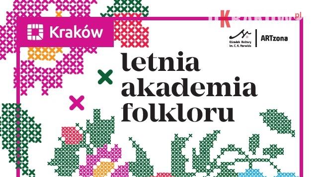 letnia akademia folkloru - ARTzona Ośrodka Kultury im. C. K. Norwida zaprasza do Letniej Akademii Folkloru.