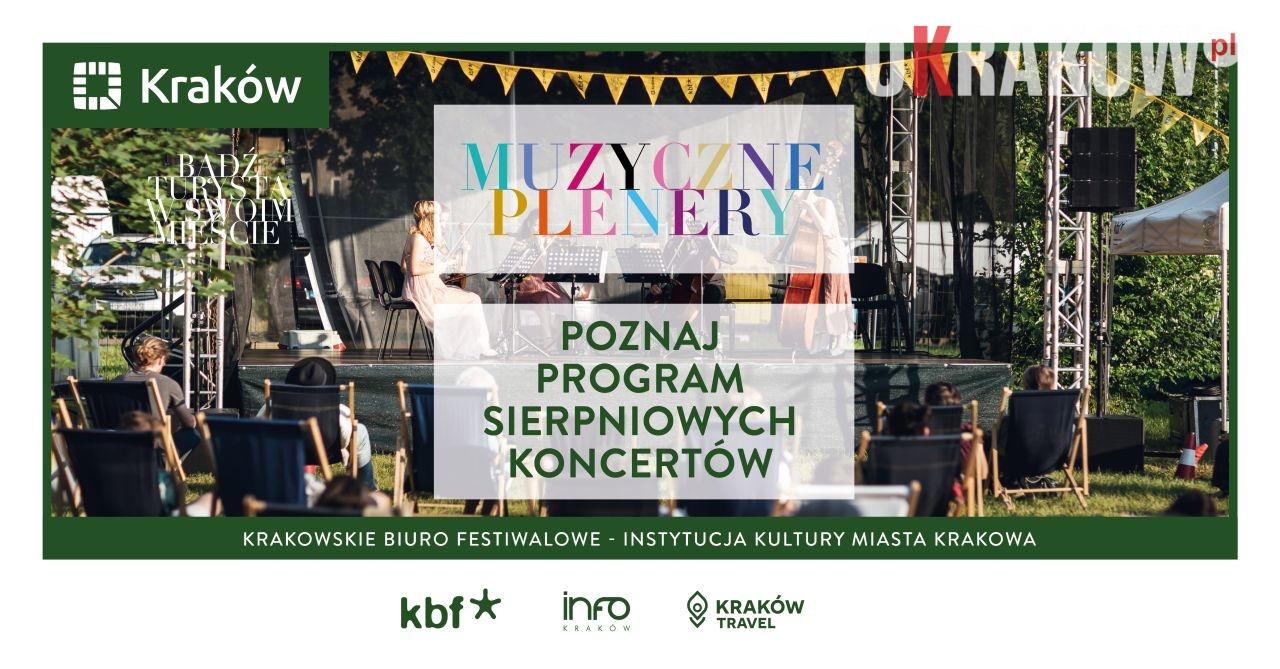 Muzyczne plenery – zmiana artysty na koncercie 31.07.2020