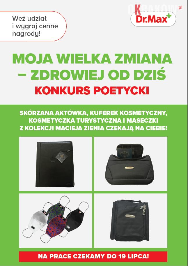 """plakat 212x300 - Konkurs """"MOJA WIELKA ZMIANA – ZDROWIEJ OD DZIŚ"""" w Krakowie"""